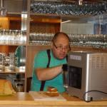 Láďa Jelínek -barista