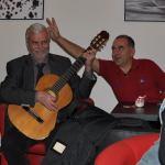 oslavný večírek po vánočním koncertě
