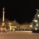 vánoční atmosféra vně i ...