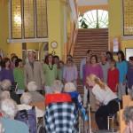 Tradiční vystoupení v Domově pro seniory v Milíčevsi