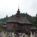 krásný kostel Pany Marie sněžné ve Velkých Karlovicích