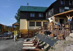 Chata na Špici-opalovátka