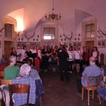 koncert Sborissimo na Humprechtě